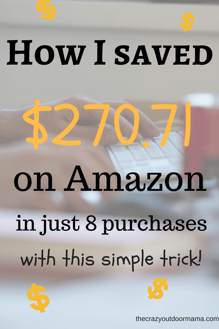 how to save money online using amazon