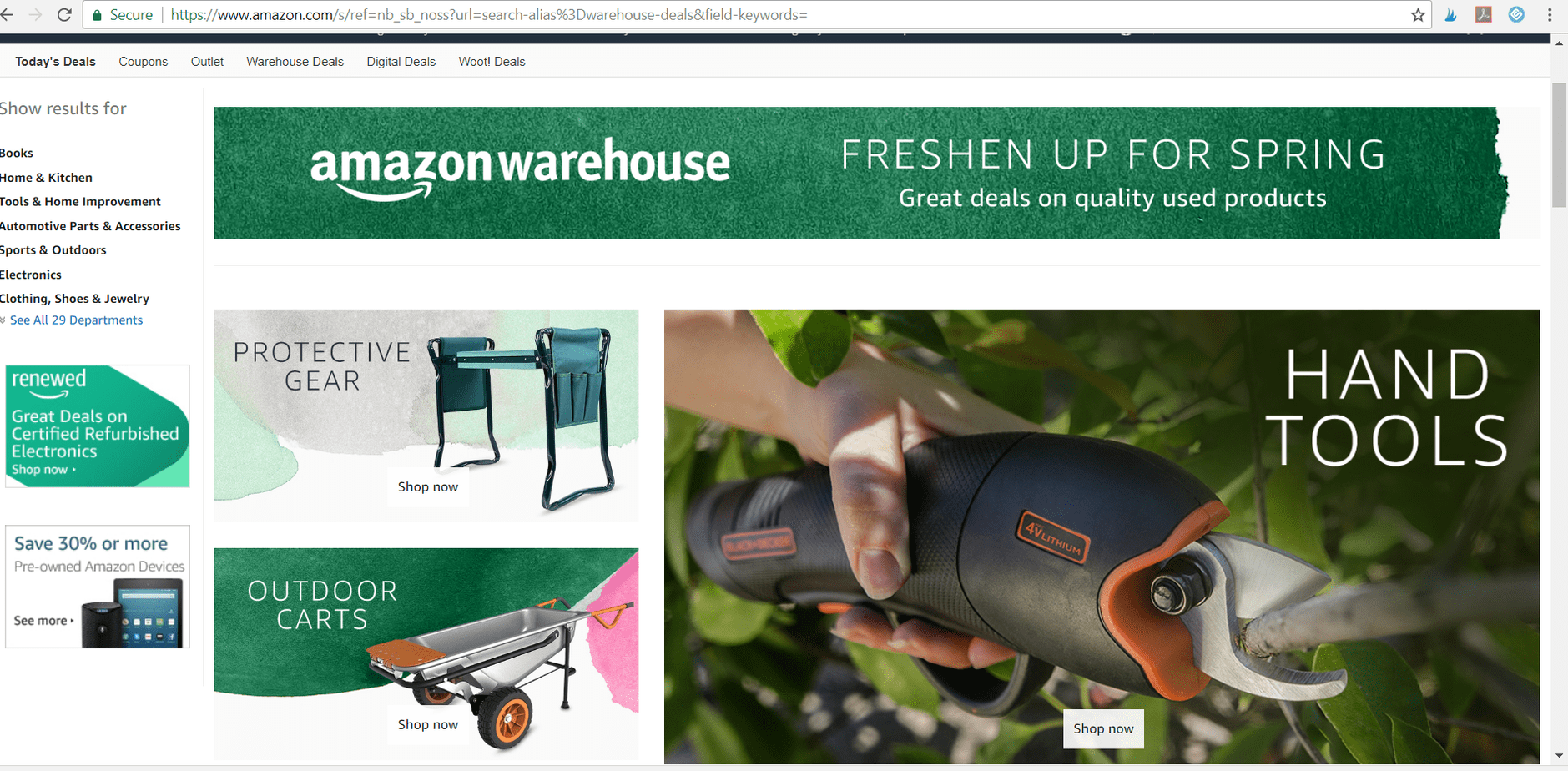 How to use Amazon Warehouse Deals to Save Money! – The Crazy