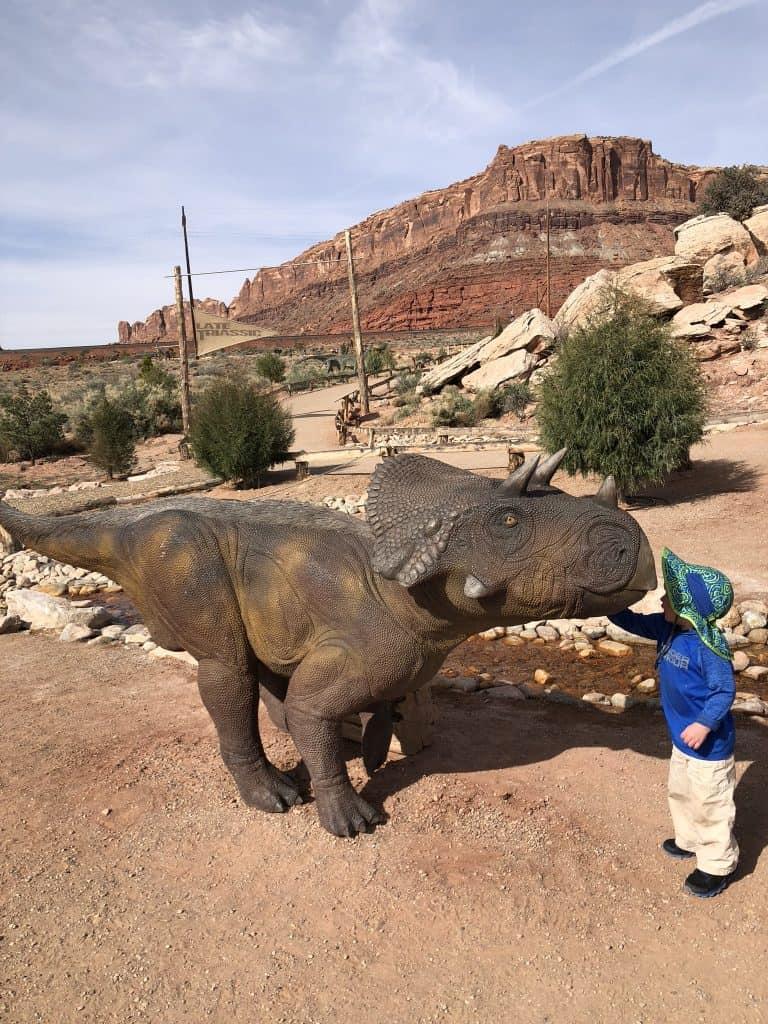 Ideas for kids in Moab -Dinosaur park!