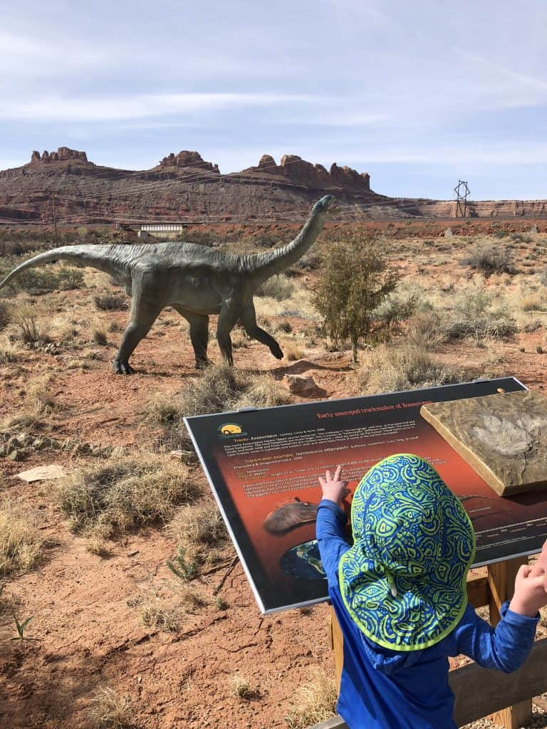 Moab Giants dinosaurs things to do with kids in Moab