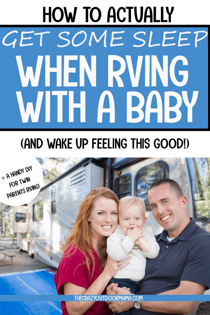 sleep tips for camping with a baby in an rv