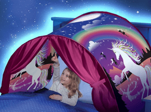 co sleep with twins in a camper with a dream tent
