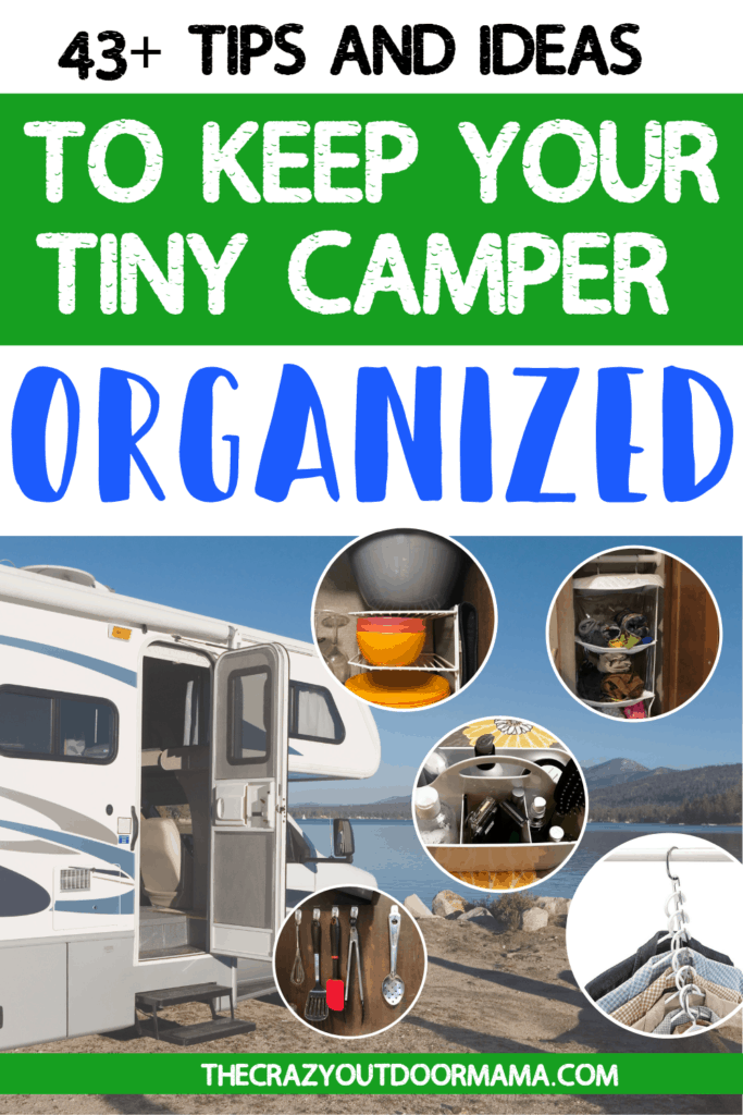 organization accessories for your rv or travel trailer camper
