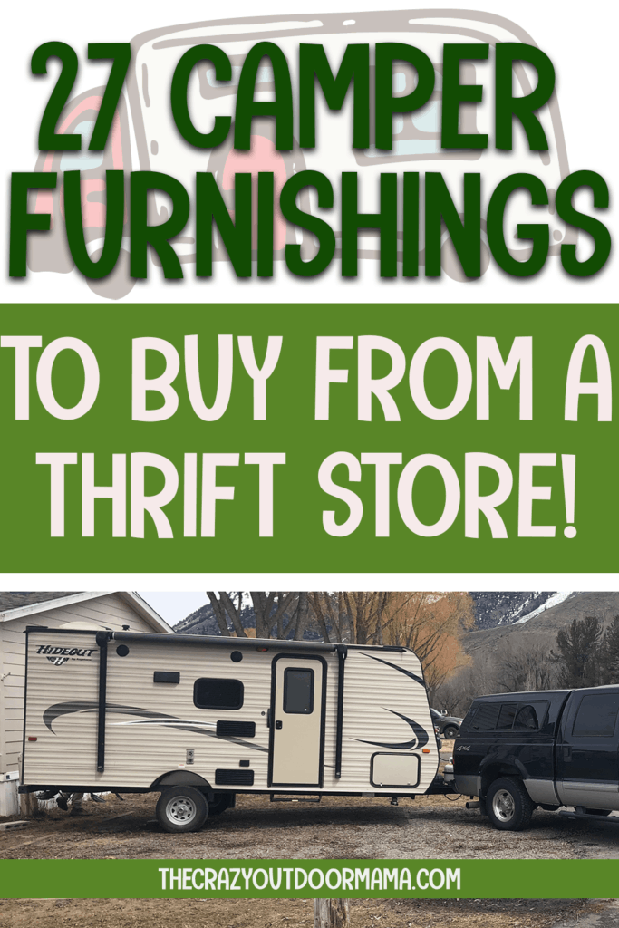 what camper rv furnishings to buy cheap