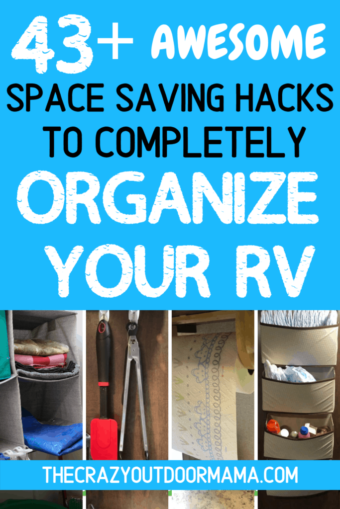 rv camper organizing ideas products