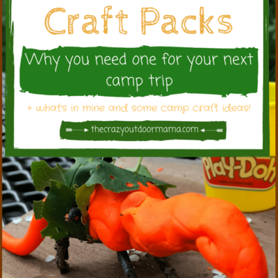 DIY Camping Craft Kits + 5 Educational Reasons to Craft while you Camp!