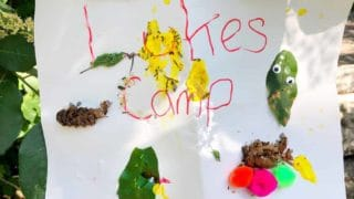 DIY Kids Camping Tradition: A Creative Campsite Sign!