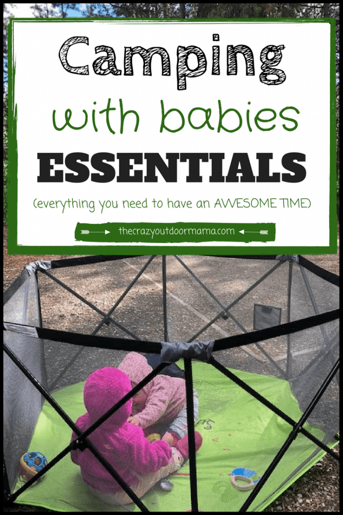 what to pack for camping with your baby