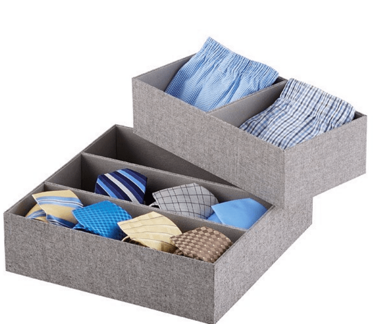 drawer organization for small drawers in rvs