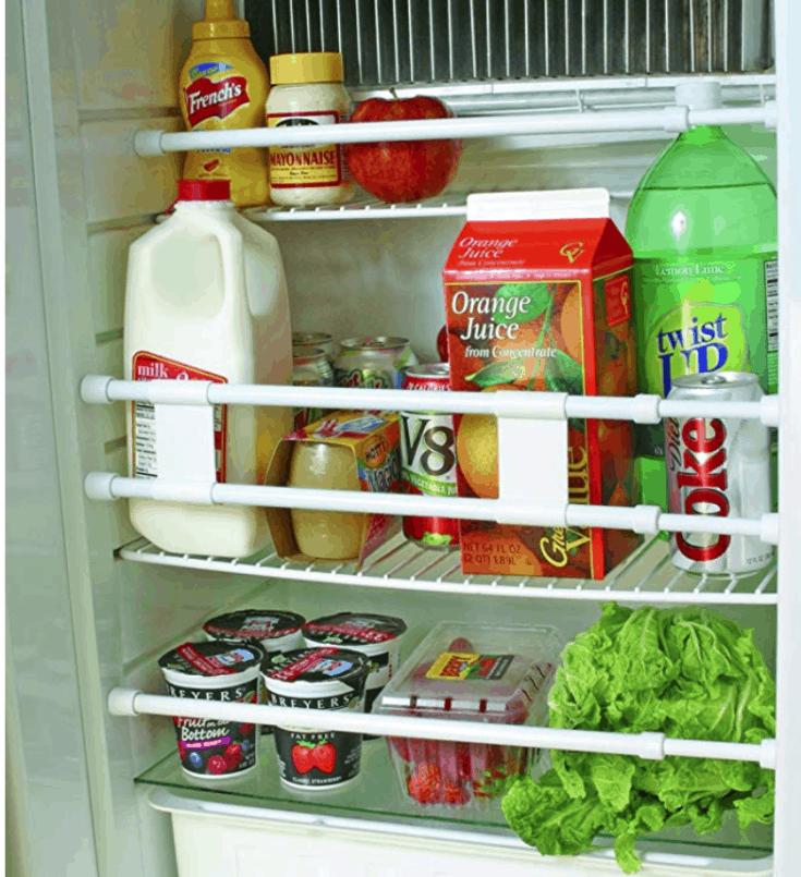Camco Double RV Refrigerator Bar