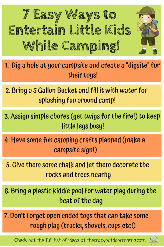 11 Easy Camping Activities and Ideas for Kids (that are
