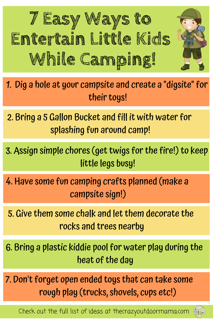 11 Easy Camping Activities and Ideas for Kids (that are cheap and