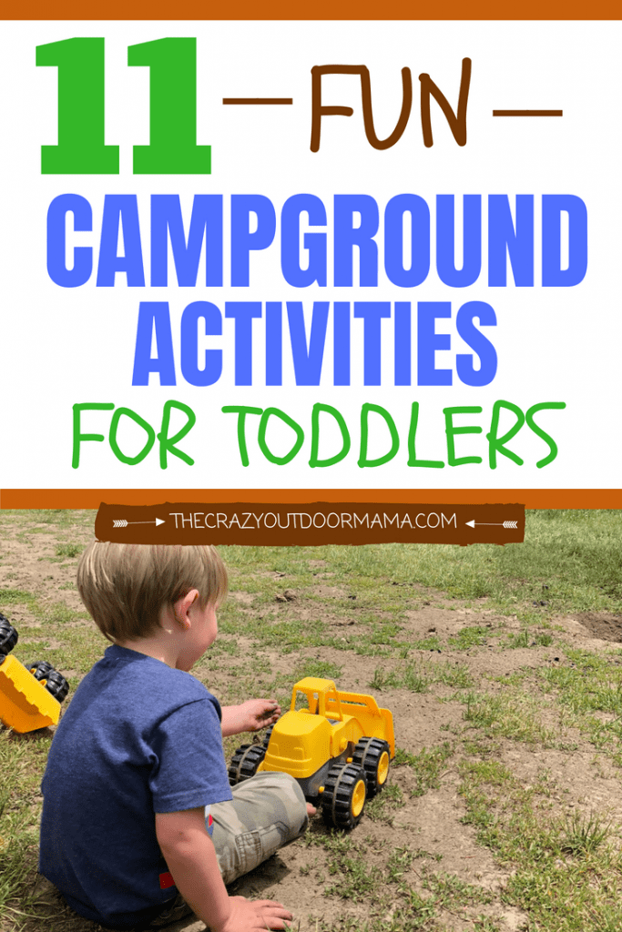 If you're camping with a toddler, you might need some ideas on how to battle boredome at camp! After so many nights camping this summer with my toddler and twin babies, I found that these camping tips really change the game for toddlers! They camping activities are safe, fun, and best of all pretty much hands off and cheap! Check out these toddler camping hacks if you want a fuss and whine free trip!