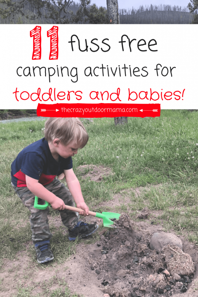 These camping ideas for toddlers and babies will make your summer camping trip so much more enjoyable!