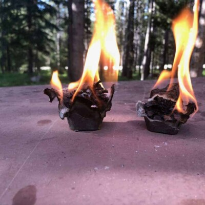 DIY Cheap, Long Burning Firestarter Using Pinecones!