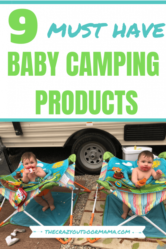 If you have all the right camping gear, it's surprsing how easier camping with a baby can be! Check out these baby camping gear ideas, with pictures of each item!