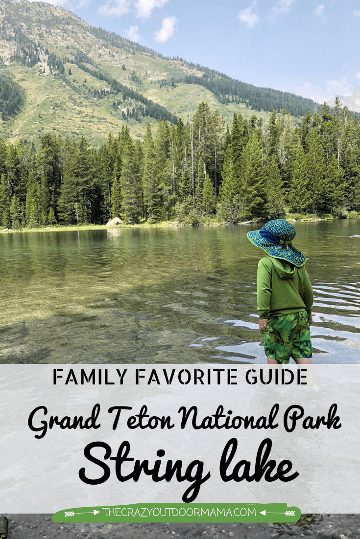 If you are visiting Grand Teton National Park with kids, this is a must see! It's beautiful flat waters (that are warm enough to swim in!) are a perfect way for the whole family to relax after a big day of adventuring! check out this local's guide to String Lake, and keep it in mind next time you're visiting Jackson WY or Grand Teton National Park!
