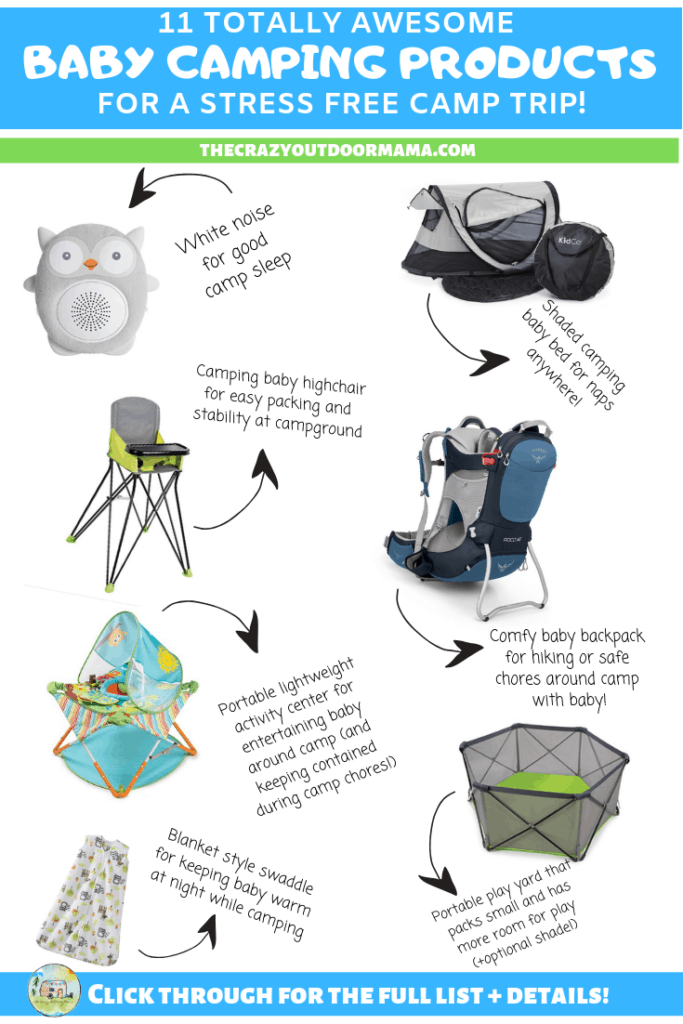 the best baby camping products for infants