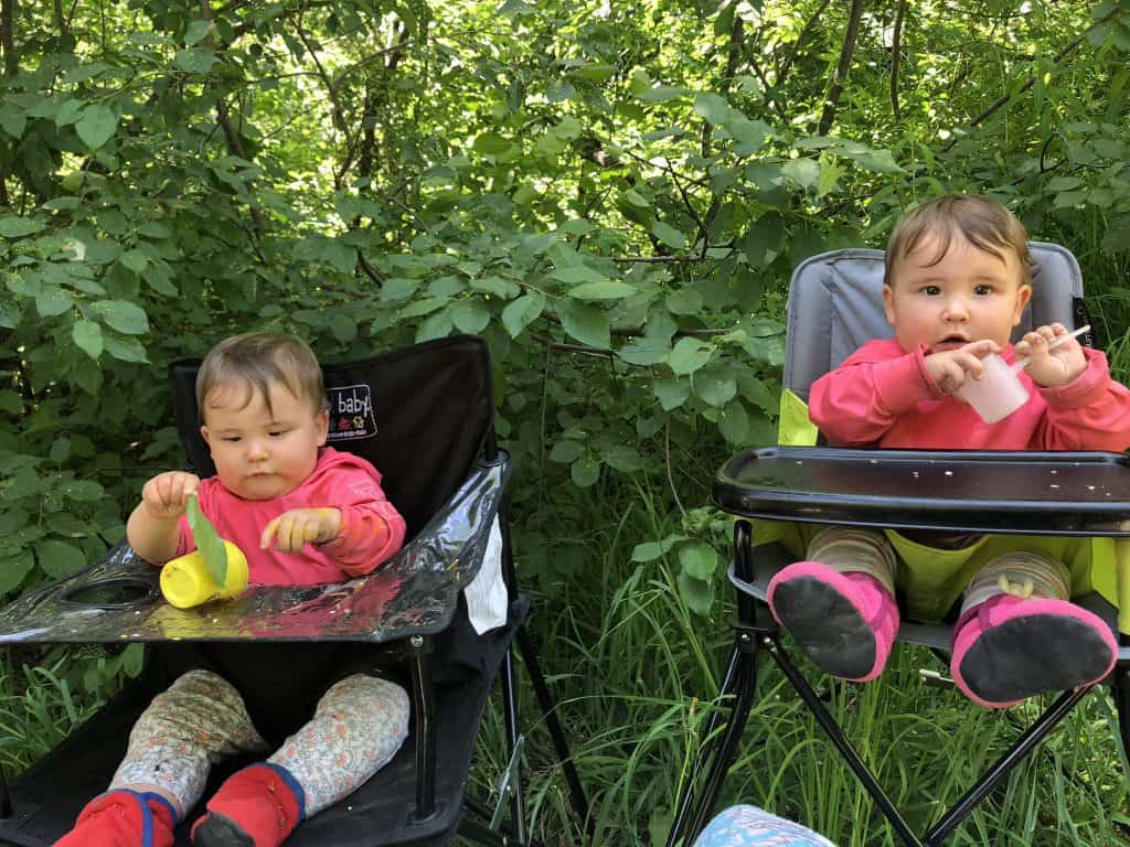 good portable baby highchairs for camping
