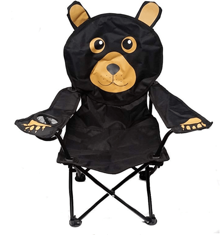 best toddler camping chair with a bear