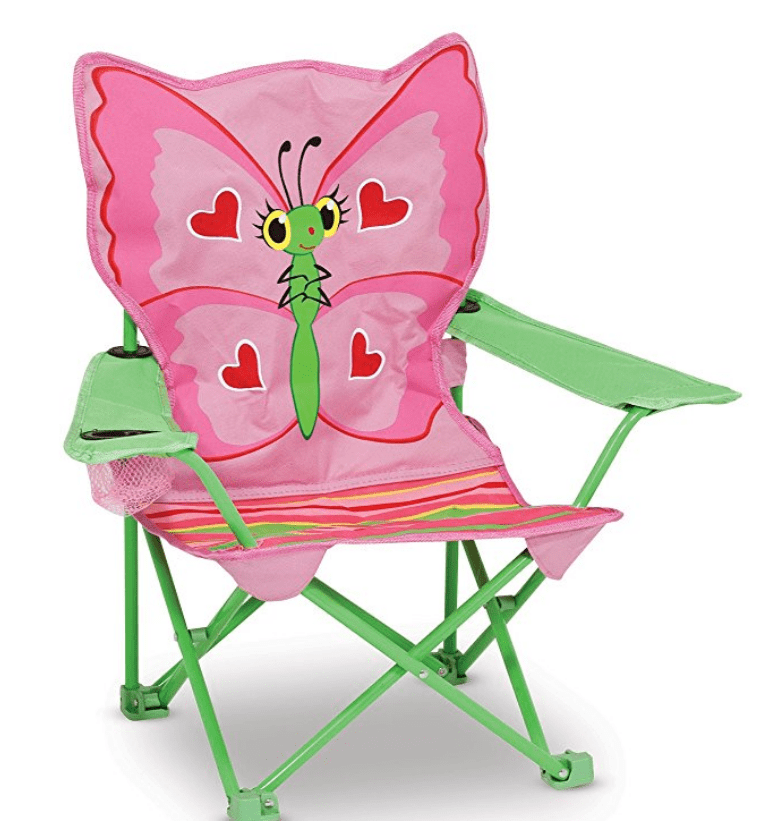 butterfly camp chair for toddlers