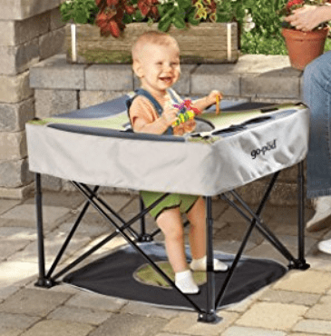 go pod for camping with baby