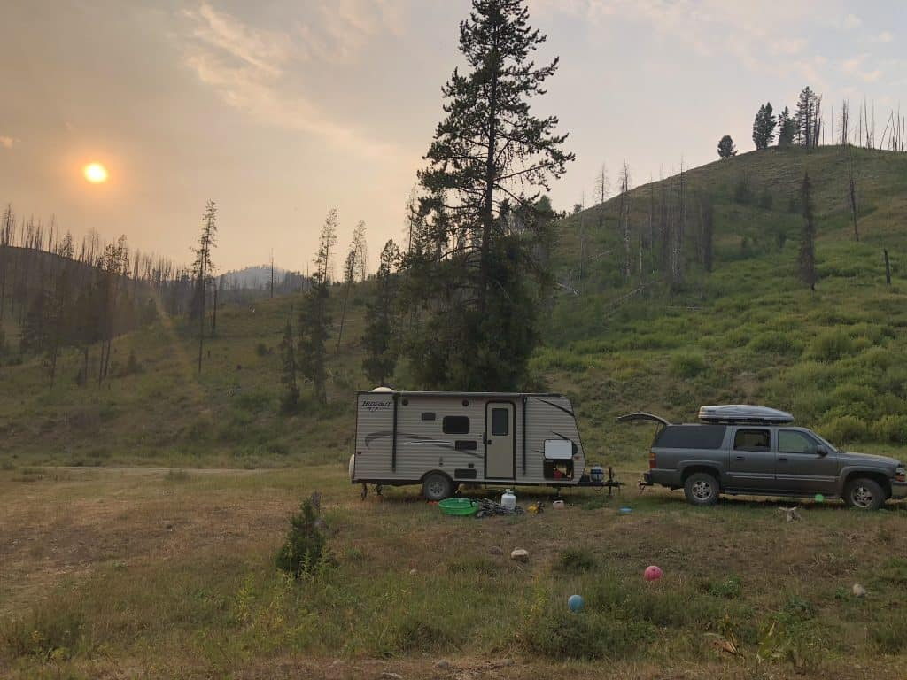 granite hot springs campground information and primitive camping options