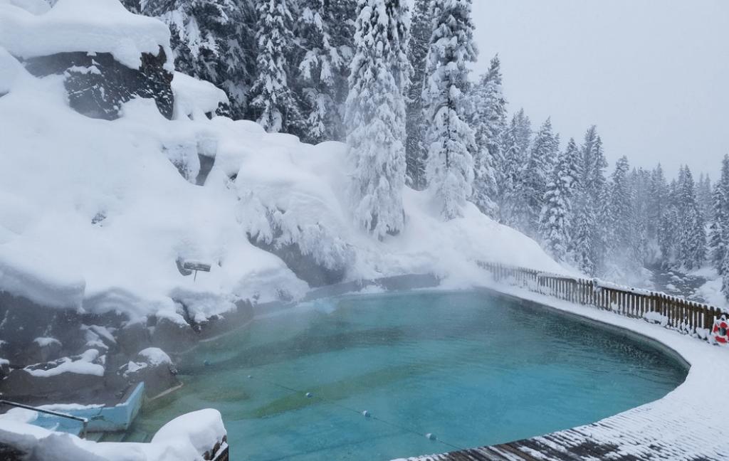 tripadvisor picture of granite hot springs during winter