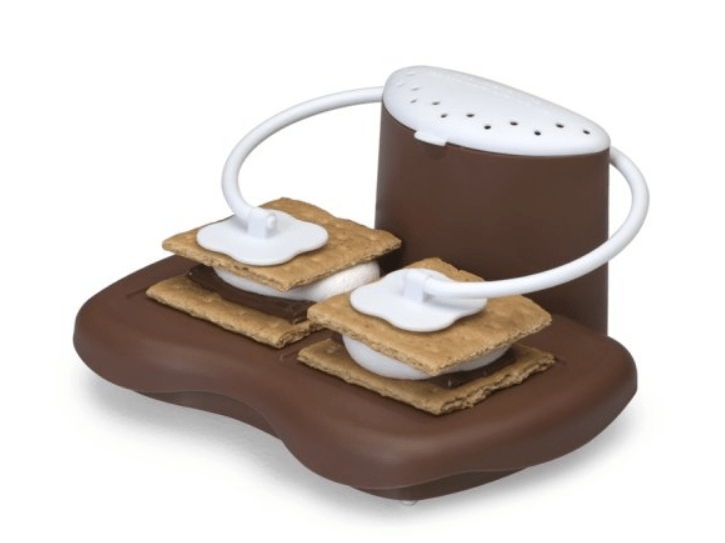 how to make s'mores in a microwave