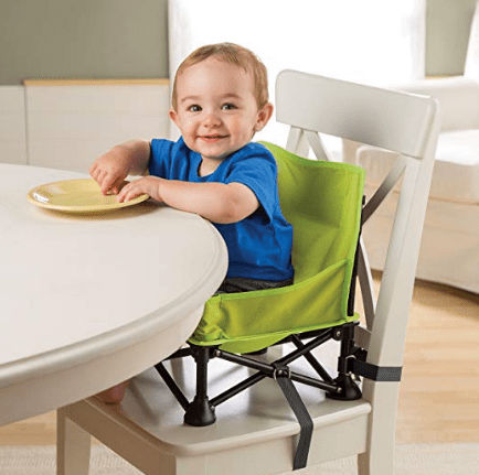 portable booster seat for babies in RVs or at campground