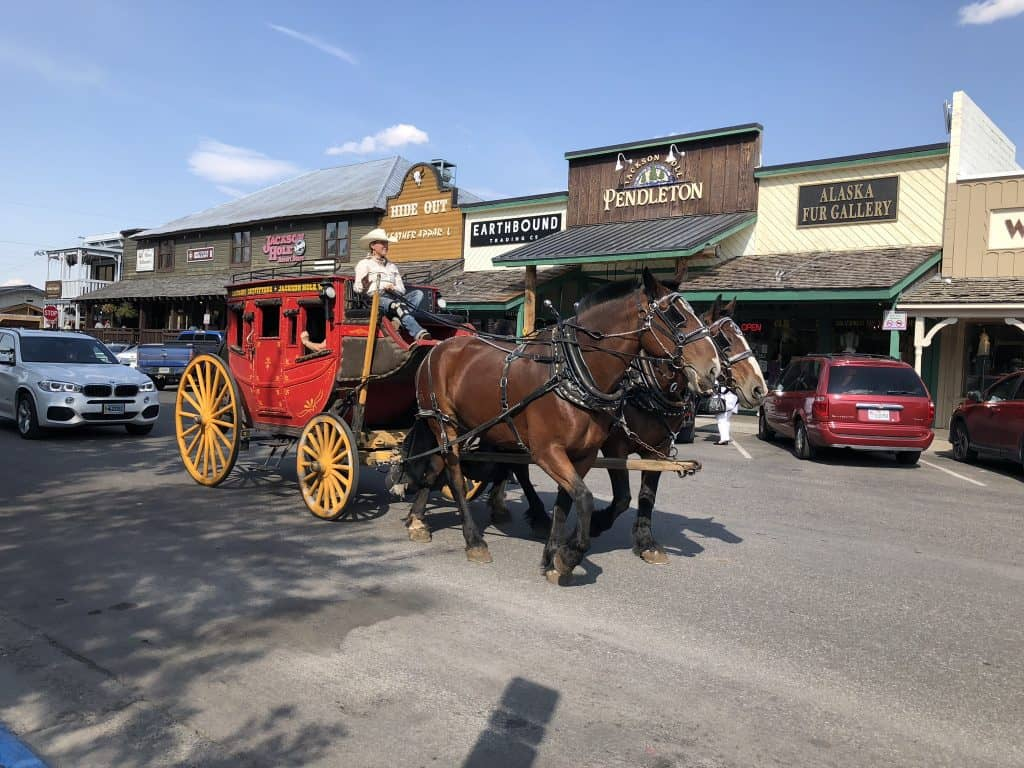 horse carriage rides in jackson wy