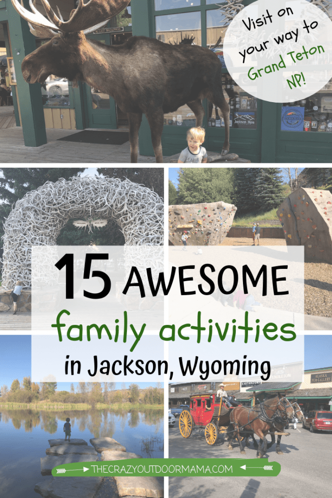 what to do with toddlers and kids in jackson wy near grand teton national park