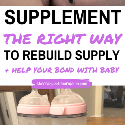 Supplementing your Breastmilk with Formula + How it Improved my Bond with my Baby!
