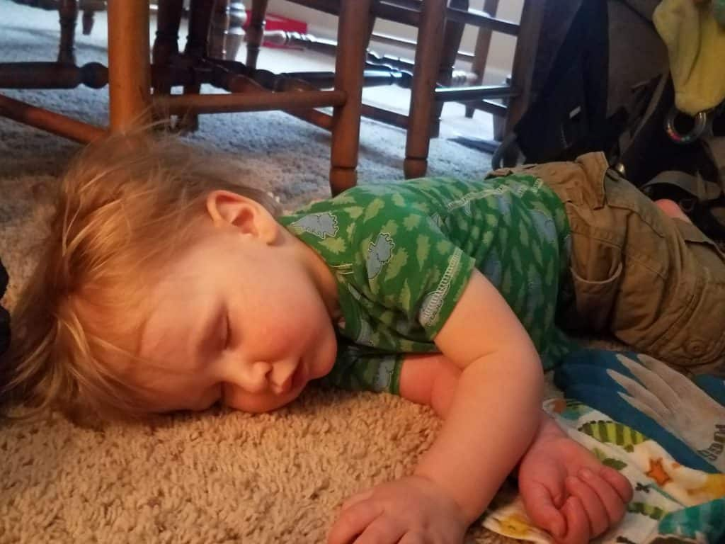 how to wean a toddler from nursing to sleep