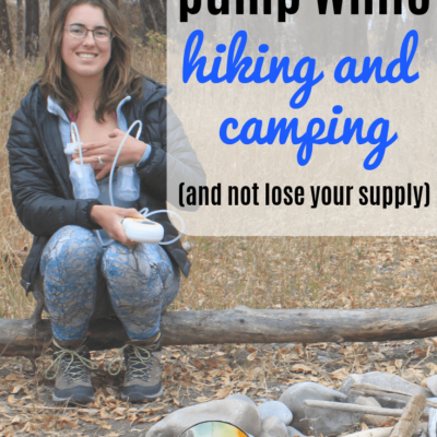 How to Pump On the Go While Hiking, Camping and Traveling!