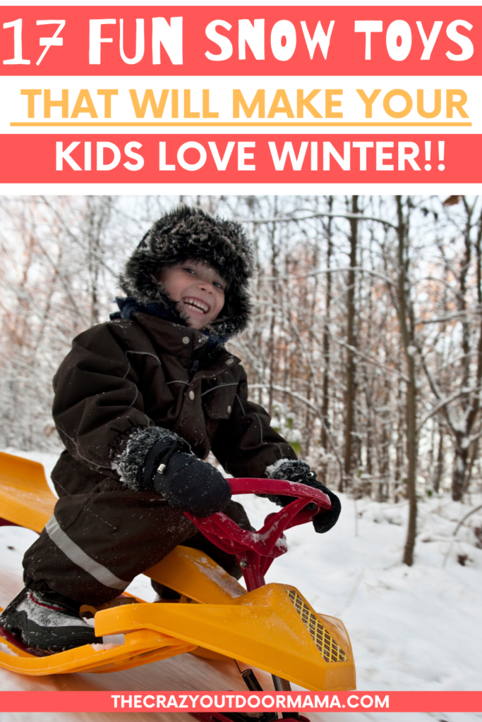 WINTER IDEAS FOR KIDS TO PLAY OUTSIDE