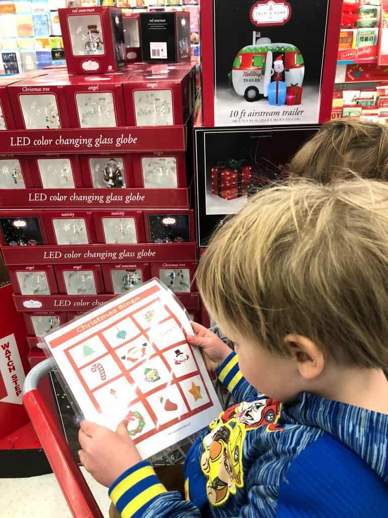 fun holiday bingo for kids
