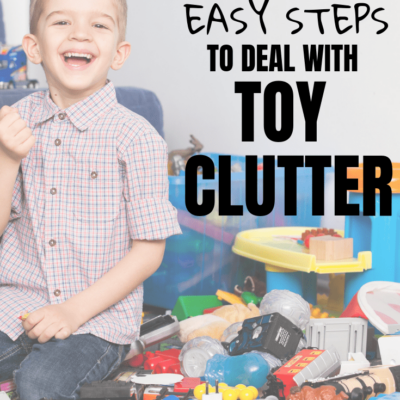 How to Get Your Kids to Actually Play with Their Toys (and control the clutter!)
