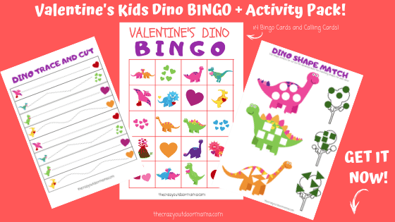 dinosaur themed preschool activities valentines