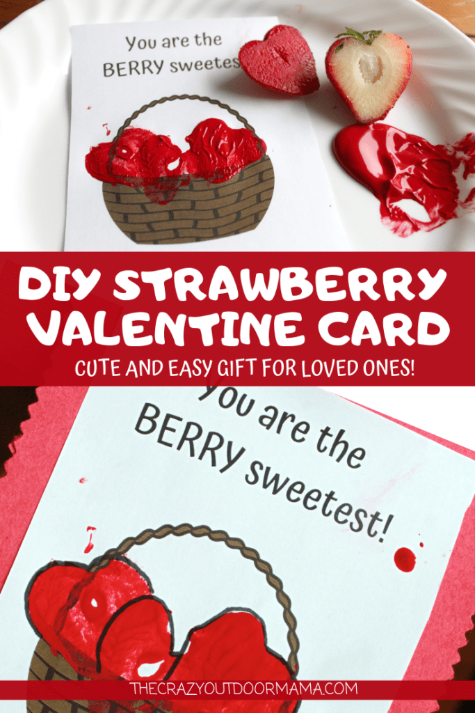 This is a perfect valentines craft from the kids to gift to a parent, teacher or friend! Kids will love this sensory play in making their very own diy valentine card for someone special!