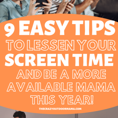 this new years learn how to reduce your screen time to make you a happier, more available mom whether you work or stay at home!