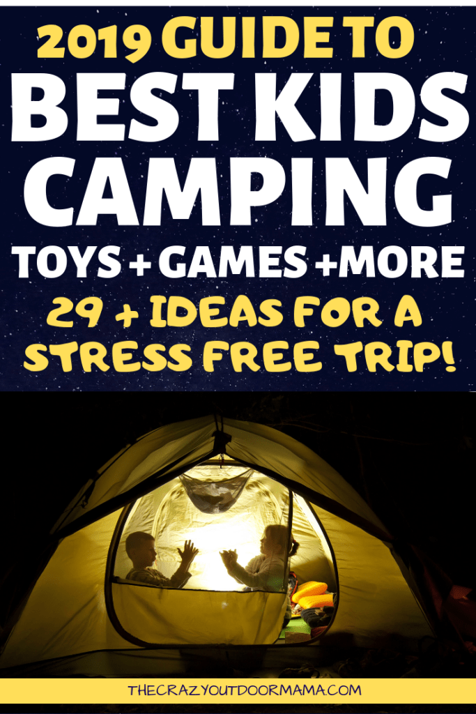 image regarding Free Printable Camping Signs known as The 29+ Funnest Little ones Tenting Toys, Game titles and Pursuits of