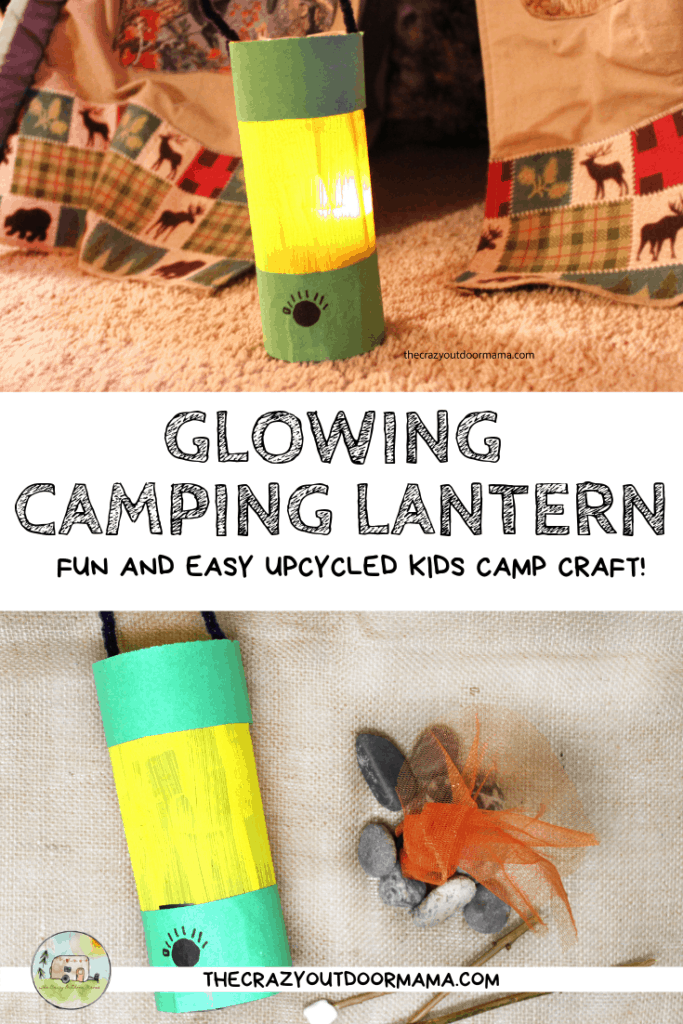 glowing camping lantern diy craft for kids camp