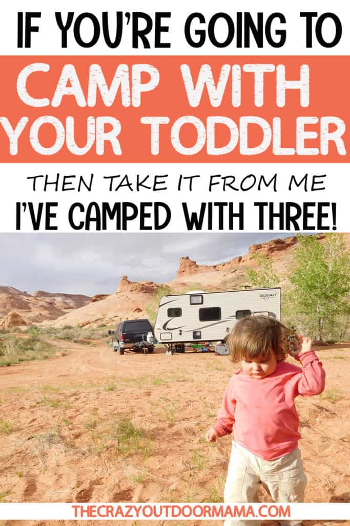 HOW TO GO CAMPING WITH YOUR TODDLER