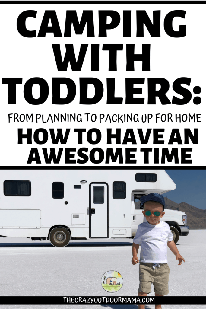 camping tips for a good camp trip with toddlers