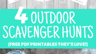 5 Fun Scavenger Hunts to Play at Camp! [Free Printables!]