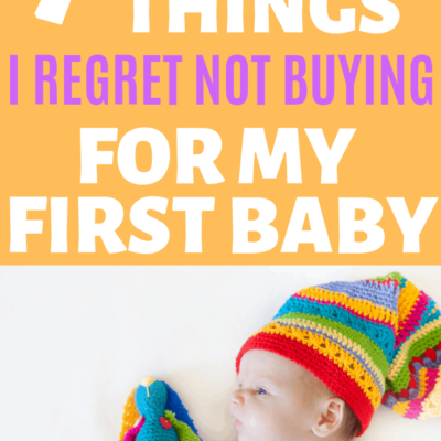 7 Stress Saving Items I Regret Not Adding To the Registry for My First Baby!