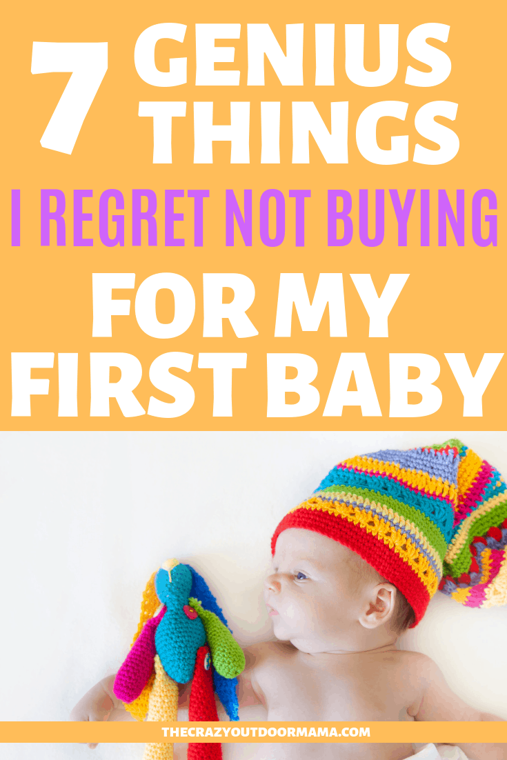 If you're a first time mom, it's easy to get overwhelmed with the crazy amount of baby advice you'll get when it comes to what products you actually need - but here's the thing, save your money for the stuff that is actually useful! After 3 kids, I can say my mom life would have been MUCH easier if I had gotten these tips when I was new! Add these items to your baby registry so you don't make the same mistake as me! #baby #newmom #momadvice #thecrazyoutdoormama #newparents #babyregistry