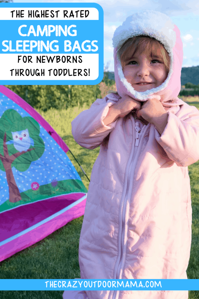 BABY CAMPING SLEEPING BAGS TO KEEP BABY WARM WHILE CAMPING