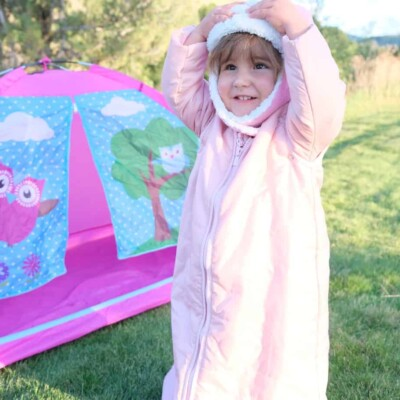 how to pick the best sleeping bag for camping with your baby or toddler